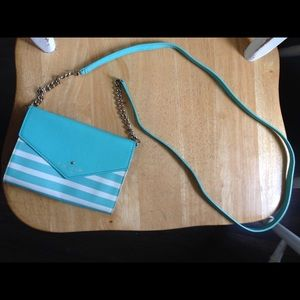 NWOT Auth Kate Spade Leather Crossbody Bag Purse